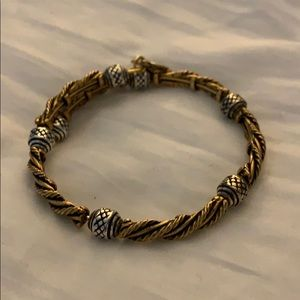 Alex and Ani rope wrap bracelet